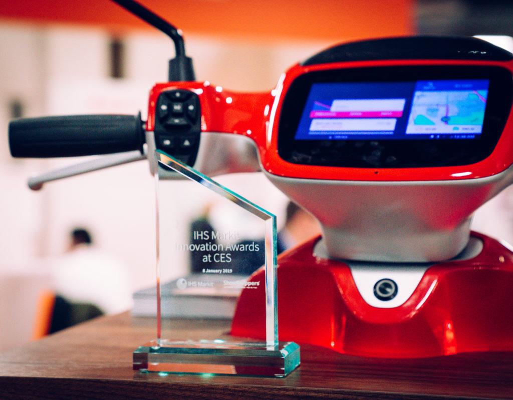 AppScooter remporte gros au CES 2019 - Blog Etergo officiel