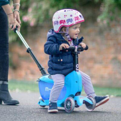 Le meilleur scooter pour un enfant de 3 ans. - Mini 2 Go Deluxe Plus