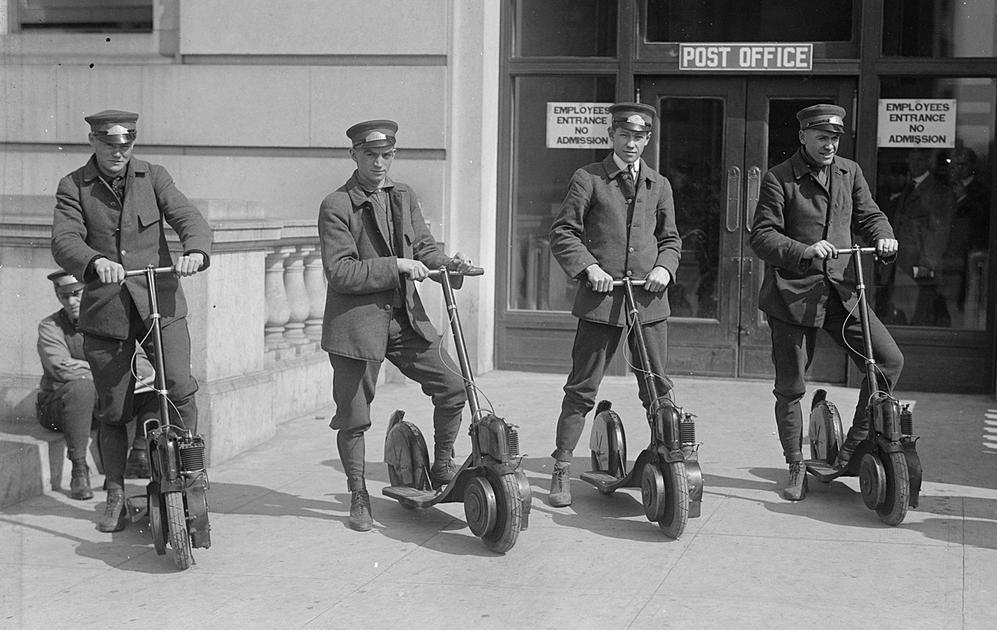 Le scooter, une brève histoire - Unagi