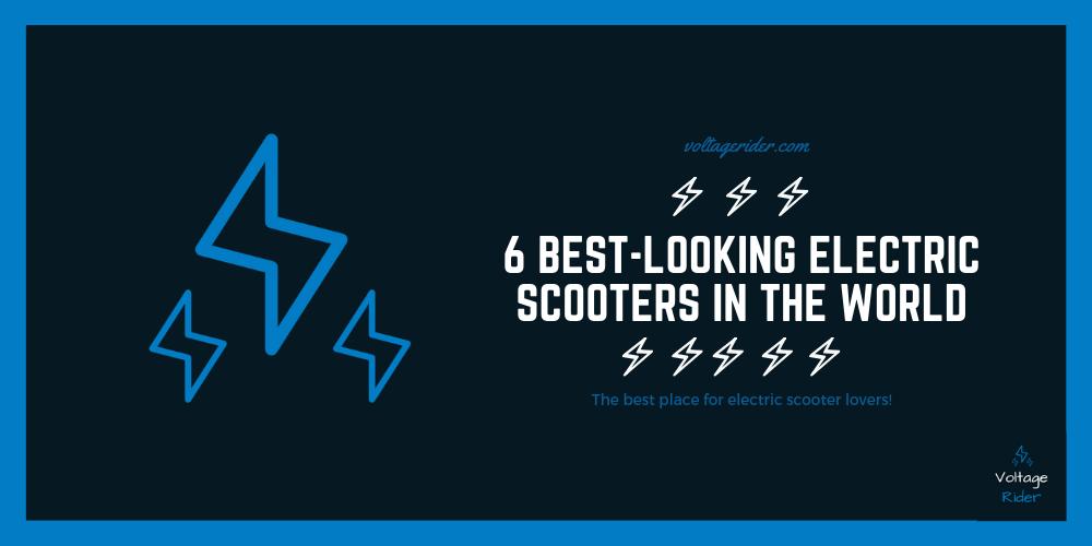 6 meilleurs scooters électriques dans le monde