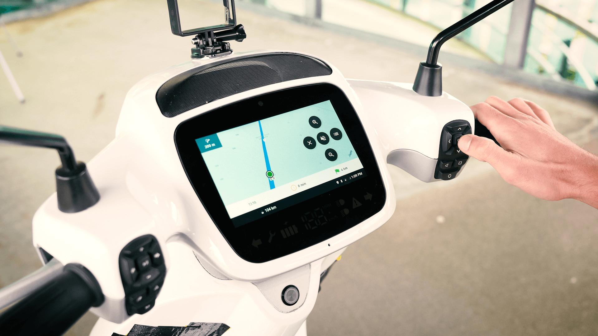 Concevoir pour la sécurité | AppScooter Cockpit par Etergo