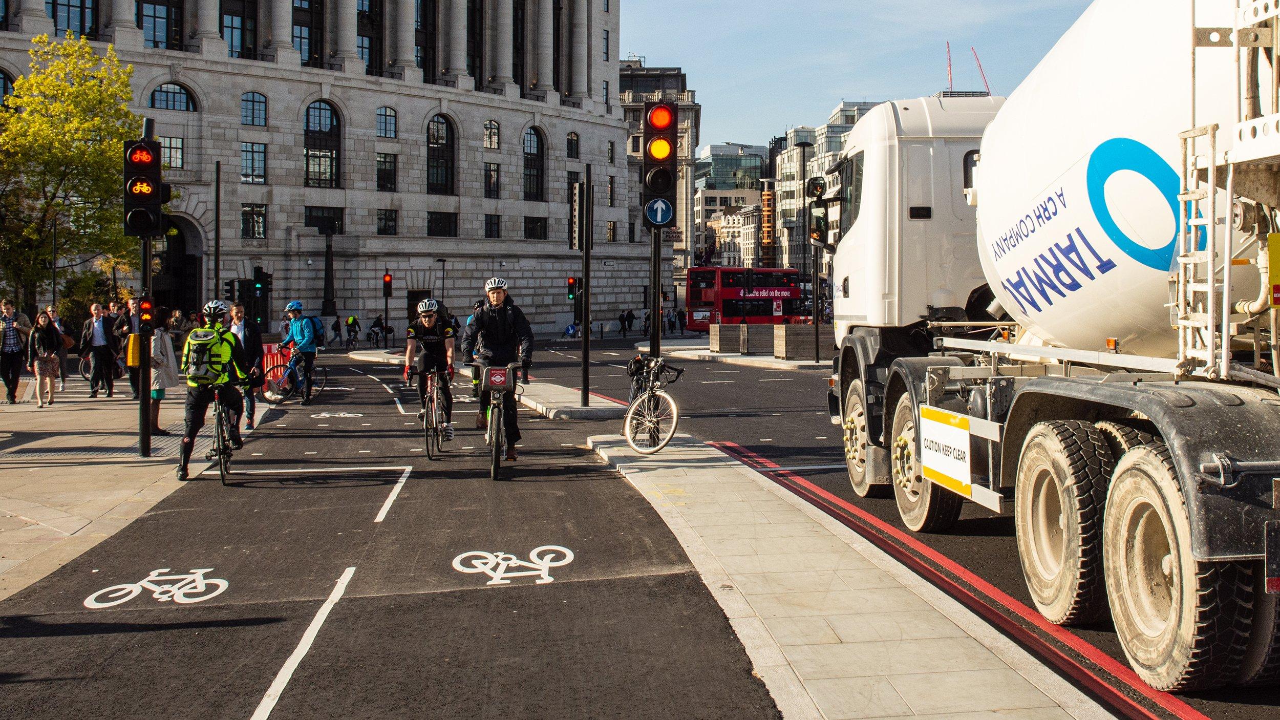 balade en vélo électrique à Londres