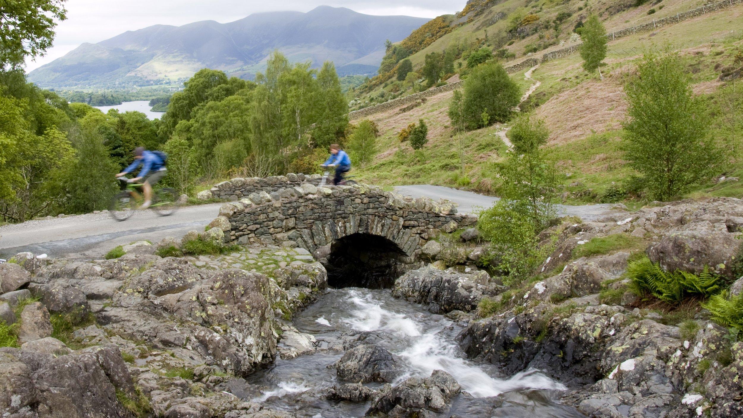 balade en vélo électrique dans le Lake District