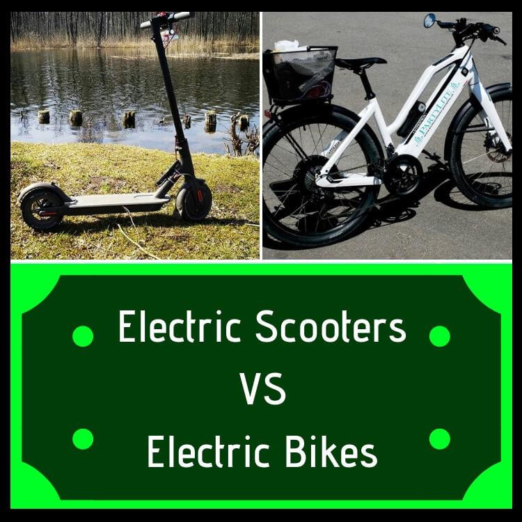 7 raisons pour lesquelles choisir un scooter électrique plutôt qu'un vélo électrique
