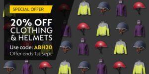 20% de réduction sur tous les vêtements et casques! - Électrique pur