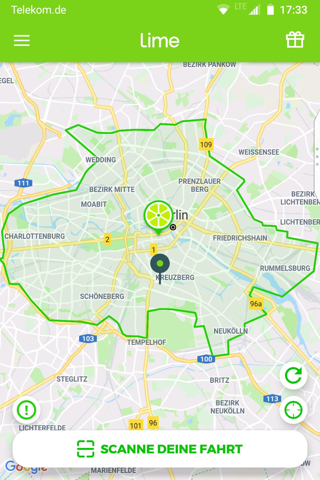 Berlin établit un record pour les tours de scooter électriques les plus rapides d'un million