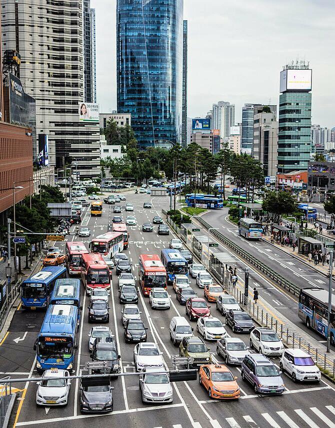 Le nouveau scooter Lime Gen 3 à Séoul cible la circulation et la pollution de l'air