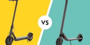 Les cinq avantages du Xiaomi M365 vs Ninebot Segway ES2