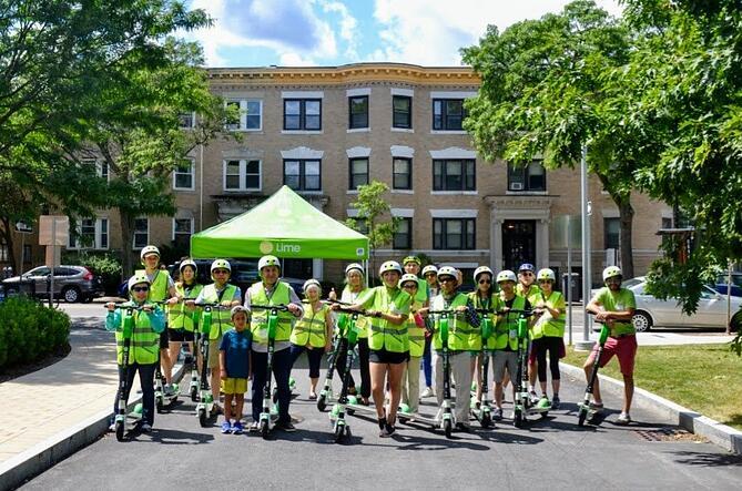 Les scooters de Brookline ont remplacé plus de 50 000 voyages en voiture