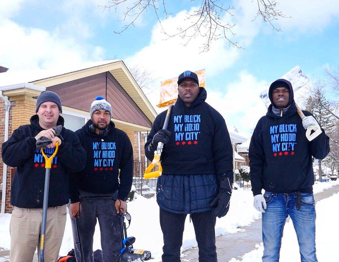 Lime encourage les cyclistes à pelleter la neige pour les personnes âgées de Chicago et les personnes handicapées