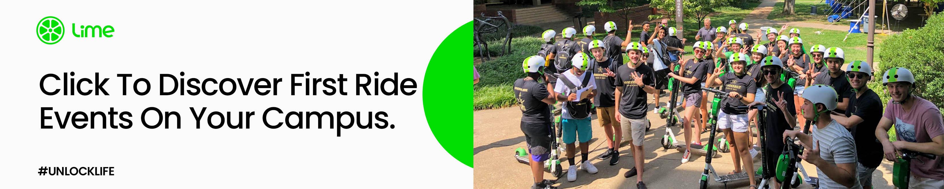 Lime promeut la sécurité des scooters lors de la rentrée des classes avec les événements First Ride Campus