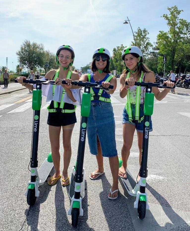 Lime propose des tours gratuits, des événements en faveur de la semaine européenne de la mobilité et de la journée sans voiture