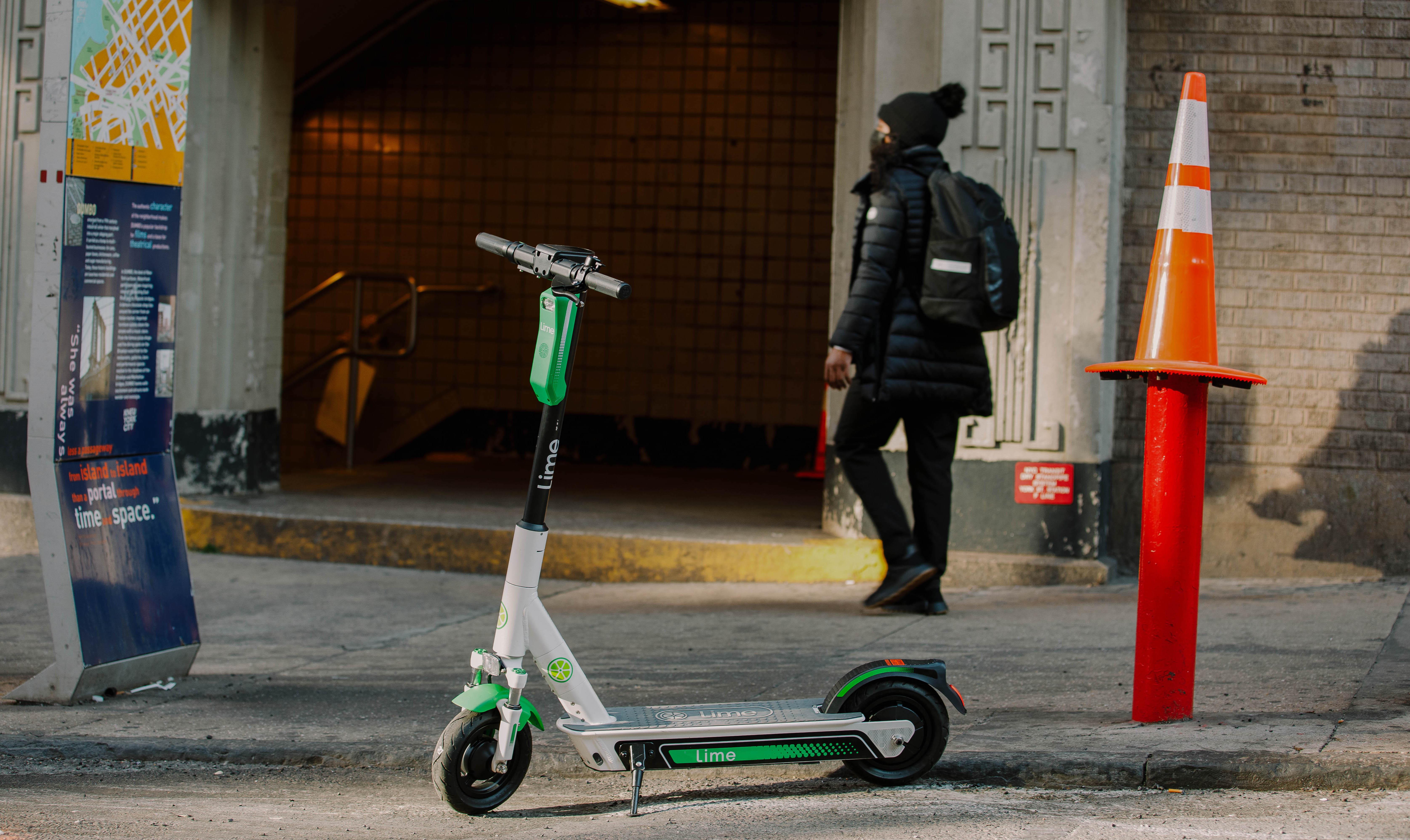 New York choisit Lime pour son premier programme de scooter électrique