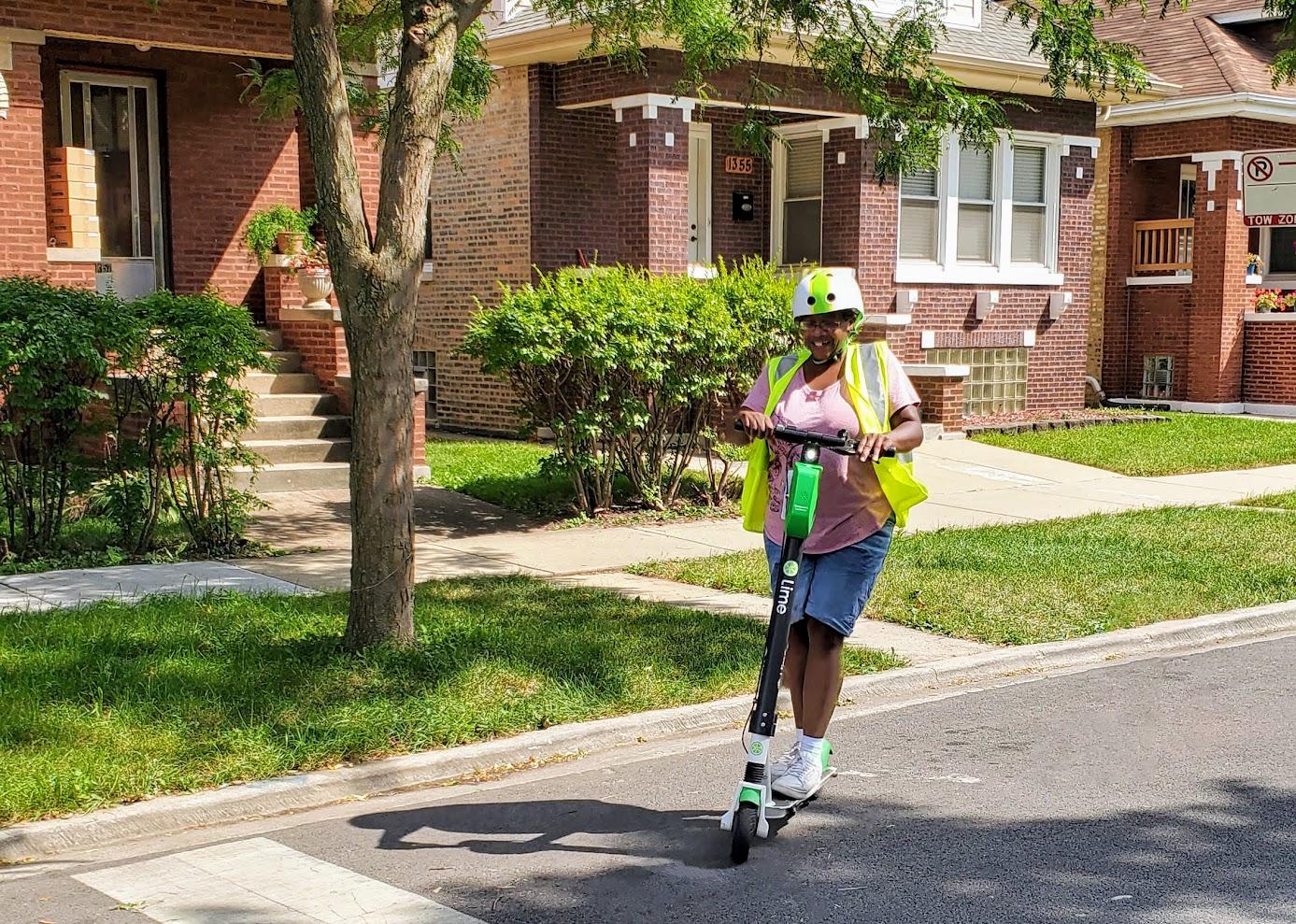 Pourquoi la demande d'E-Scooters à Chicago est en hausse alors même que le projet pilote s'essouffle