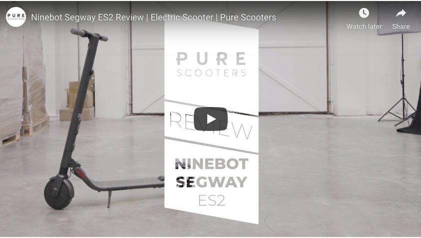 Revue vidéo Ninebot Segway ES2 - Pure Scooters