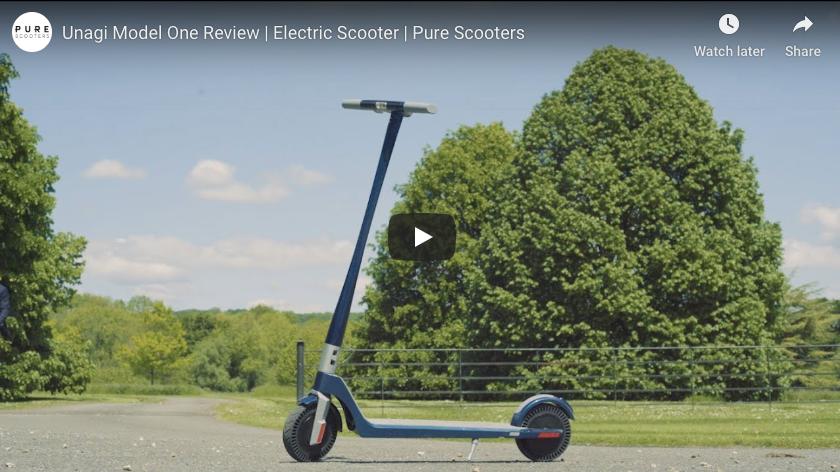 Unagi Model One Scooter électrique - Scooters purs