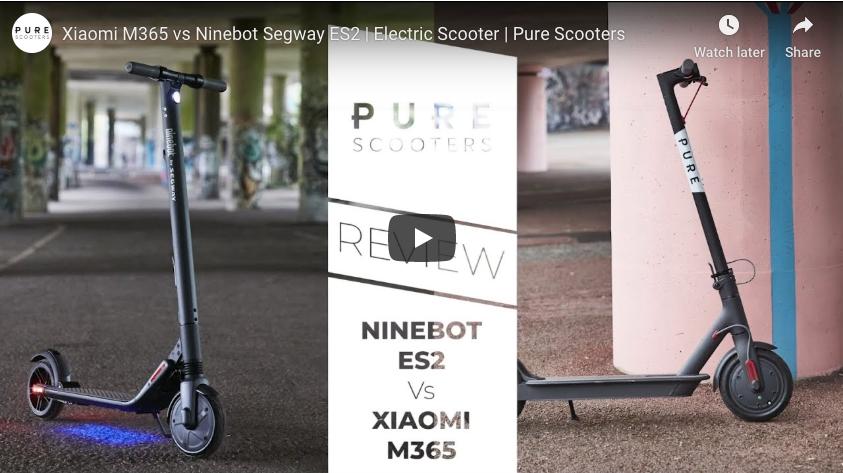 Xiaomi M365 contre Ninebot Segway ES2
