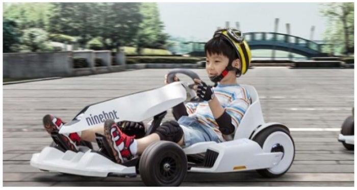 Le célèbre Ninebot Kart de Xiaomi est déjà vendu et est ridiculement bon marché, autant qu'un scooter